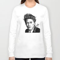 niall Long Sleeve T-shirts featuring Niall Horan by Hollie B