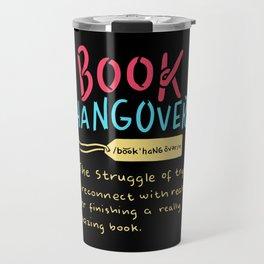 Book Hangover Travel Mug