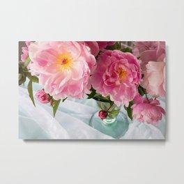 Vibrant Bouquet Metal Print