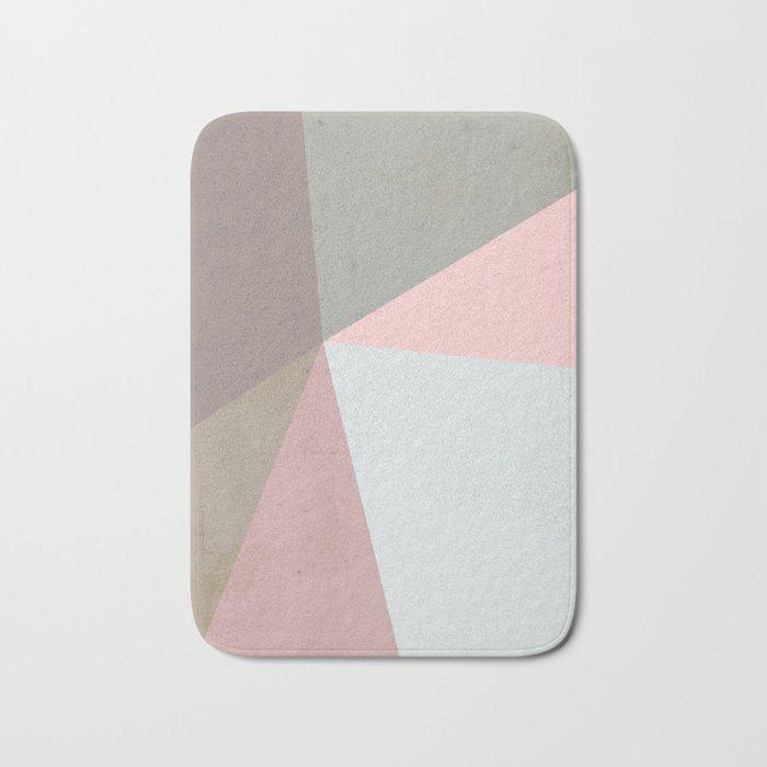 Delicate Geometry Bath Mat