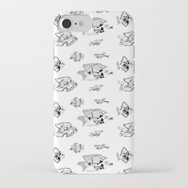 GLOOMY Fish iPhone Case