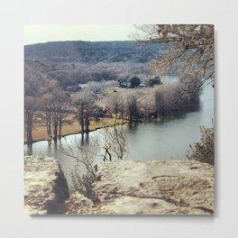 Lake Austin Bend Metal Print