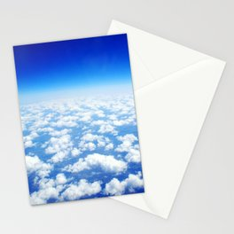 Looking Above the Clouds Stationery Cards