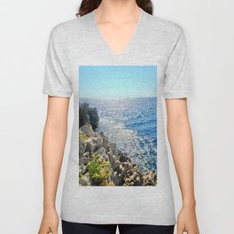 In The Distance Unisex V-Neck
