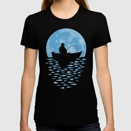 Hooked by Moonlight T-shirt