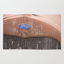 Rust Bucket Rug
