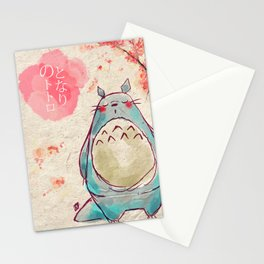 My Sakura Neighbour To to ro Stationery Cards