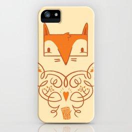 Ornate Fox iPhone Case