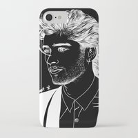 zayn iPhone & iPod Cases featuring Zayn by andjustlove