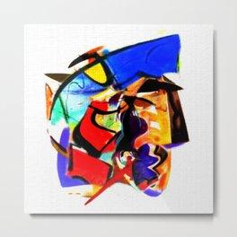 Abstract Series IV Metal Print