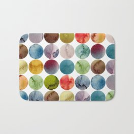 Paint pattern Bath Mat