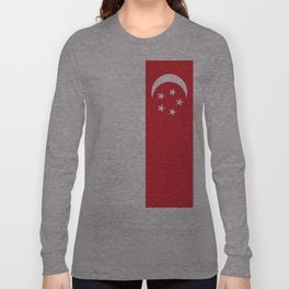 Flag of Singapore Long Sleeve T-shirt