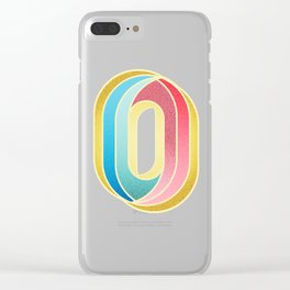 0 to hero Clear iPhone Case