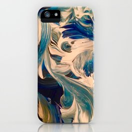 Ocean Swirl iPhone Case