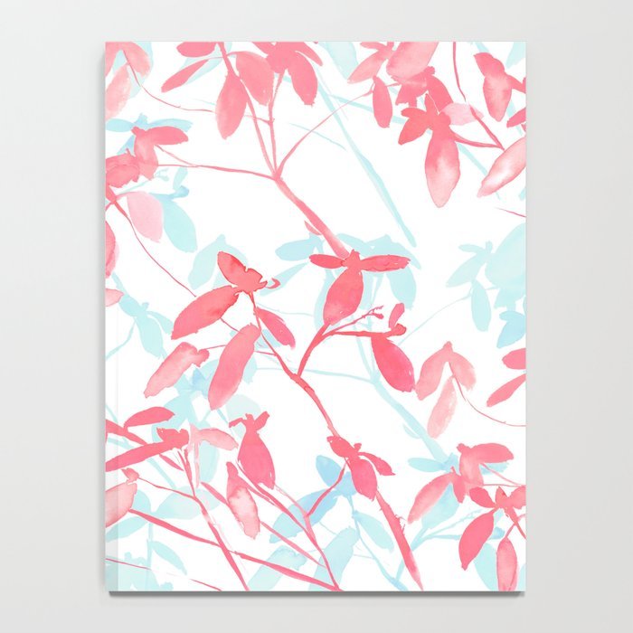 Premonition (Coral Mint) Notebook