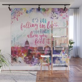 The Lovely Reckless - Like Falling in Love Wall Mural