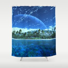 Atoll Shower Curtain