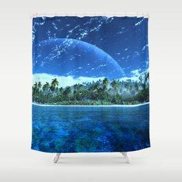 Atoll Shower Curtain