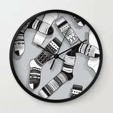Sock It To Me Wall Clock
