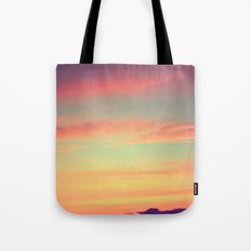 When Rainbows Go To Bed Tote Bag