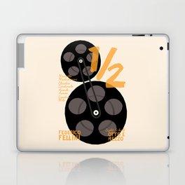 Federico Fellini, 8 e 1/2 (eight and half) italian movie poster, 8 1⁄2, otto e mezzo Laptop & iPad Skin