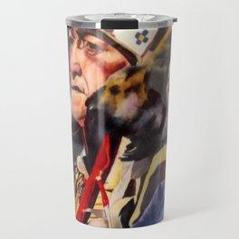 Chief Eagle's Coup Travel Mug