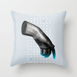 The Left hand Throw Pillow