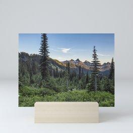 View of the Tatoosh Range Mini Art Print
