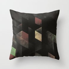 th' cyge Throw Pillow