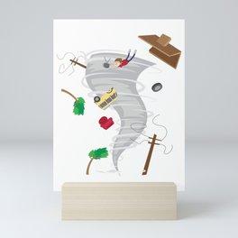 Awesome Tornado & Storm Chasing Mini Art Print