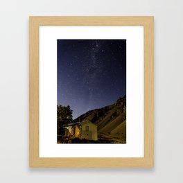 House night Framed Art Print