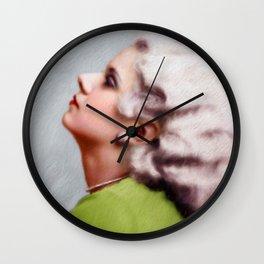 Jean Harlow Wall Clock