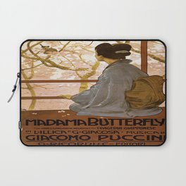 Vintage poster - Madama Butterfly Laptop Sleeve