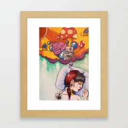 good dreams Framed Art Print