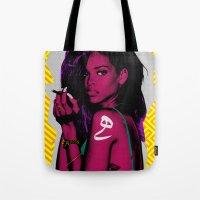 rihanna Tote Bags featuring RIHANNA by FA 23