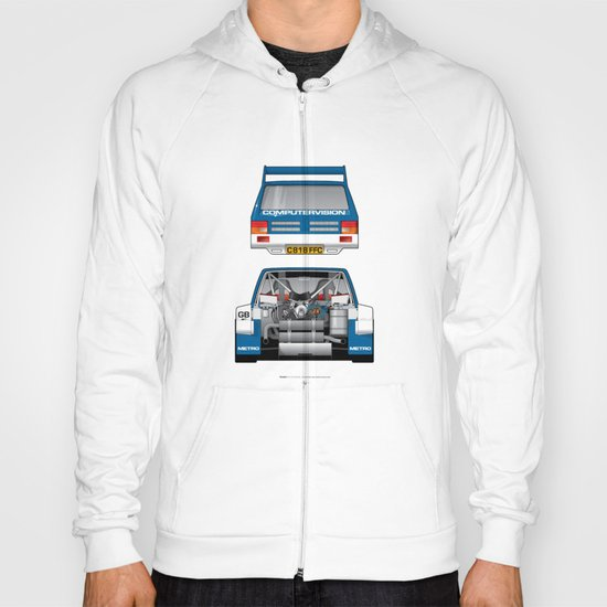 Outline Series N.º7, MG Metro 6R4, 1986 Hoody