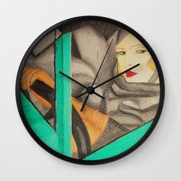 Self-Portrait - Tamara de Lempicka Wall Clock