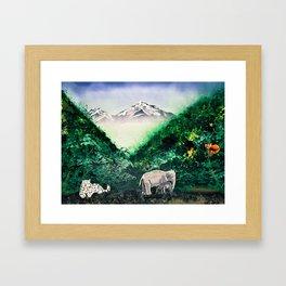 Eastern Himalayas Framed Art Print