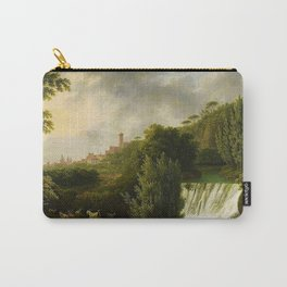 View on Sessa Aurunca, Italy by Jakob Philipp Hackert Carry-All Pouch