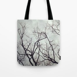 sticks in the gloom Tote Bag