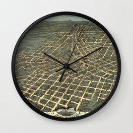 Atlanta 1871 Wall Clock