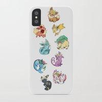 umbreon iPhone & iPod Cases featuring Eeveelutions by Leonie X. Li