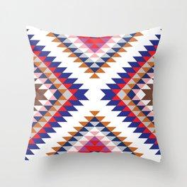 Aztec Rug Throw Pillow