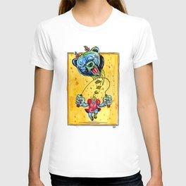 Bear Girl Skipping T-shirt