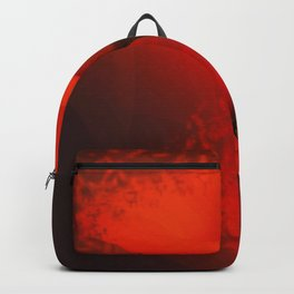 Calla Lily Vivid Red Scatter Effect Backpack