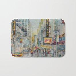 Broadway,  New York - Five O'Clock Revised Bath Mat