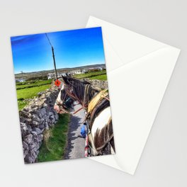 Carriage with a Tinker Pony Stationery Cards