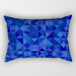 POLYGONAL PATTERN IV Rectangular Pillow