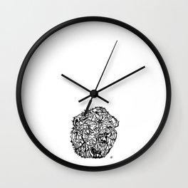 'Elvis'  by John McLachlan Wall Clock