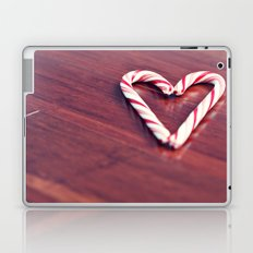 Candy Cane Love Laptop & iPad Skin